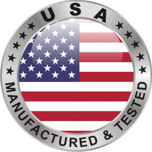 Manufactured & Tested in USA